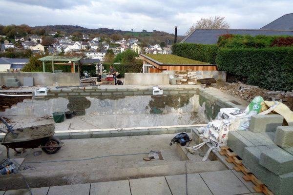 projects - Refurbishment of pool