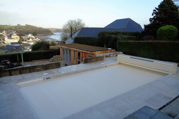 Pool refurbishment and renovation - mosaic liner