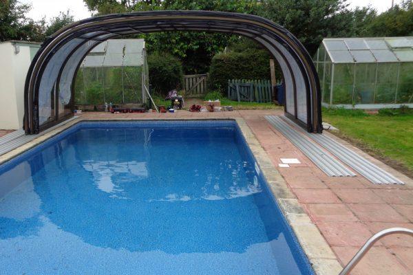 Pool refurbishment and renovation - add an enclosure