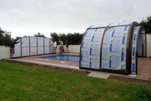 Pool refurbishment - Pool fittings and filtration, Liner