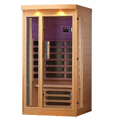 Wellness Saunas products use only A grade hemlock wood